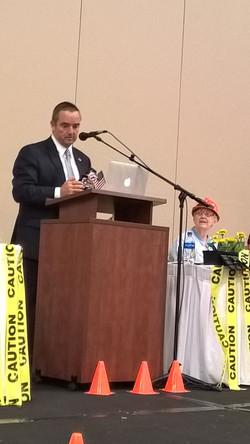 Mayor Schmitt welcoming speech