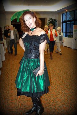 Maria Runde dressed for success!