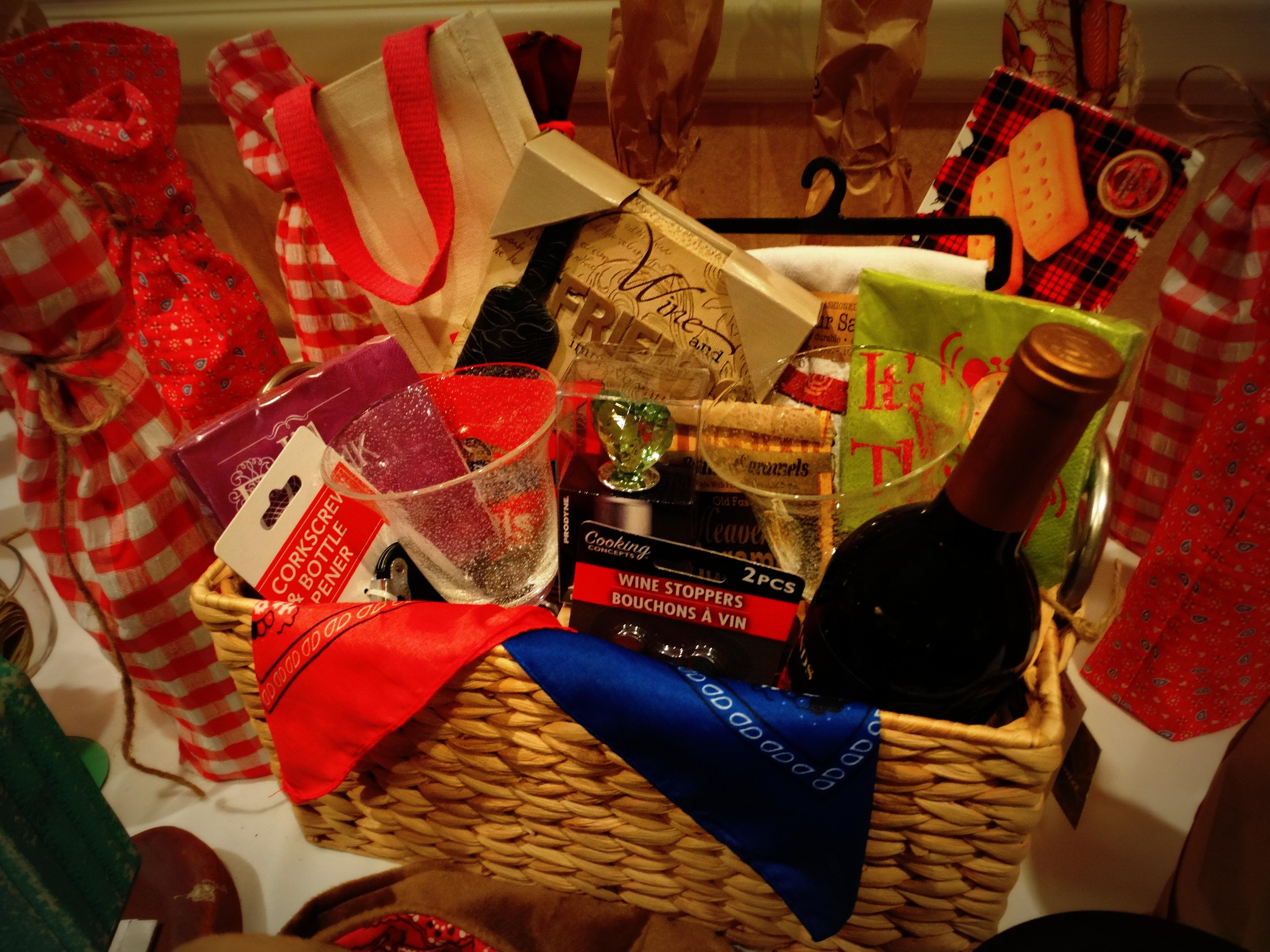 Wine Raffle Prize Basket