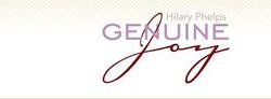 Genuine Joy Januray 8, 2014