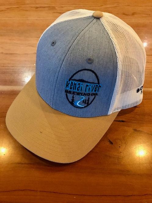 Baseball hat - Grey & Gold