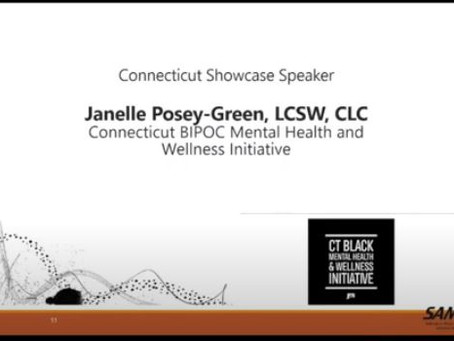 Janelle Posey-Green's Presentation for SAMHSA Behavioral Health Matters/Black History Month Series
