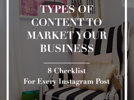 Types of Content to Market Your Business!