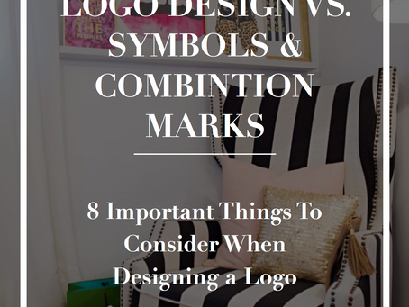Logo Design Vs. Symbols & Combination Marks