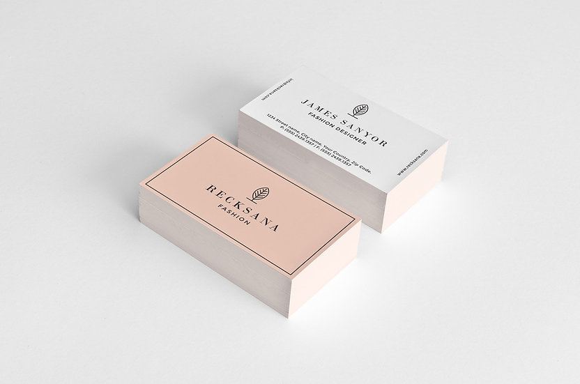 Stylish Stationery Business Card & Envelop Design
