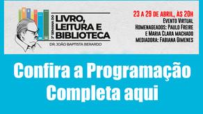 Semana do Livro em Jardinópolis começa hoje (23)