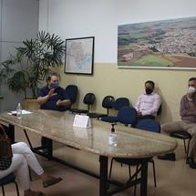 Prefeito de Jardinópolis se reúne com comerciantes para discutir possíveis mudanças no Lockdown