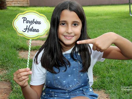 Em Foco: Helena 8 anos