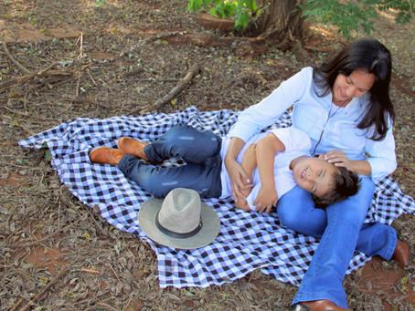 Em Foco: Ensaio com mamãe Paula Lobato e Joaquim