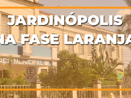 Jardinópolis na fase laranja do Plano São Paulo