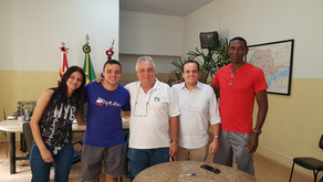 Equipe Feminina de Futsal reforça o apoio da Prefeitura Municipal