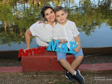 Em Foco: Dia das Mães - Ariela e Miguel