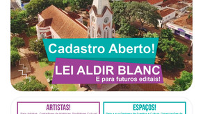 Artistas e Espaços Culturais poderão receber auxilio da Prefeitura de Jardinópolis