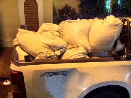 PM de Jardinópolis apreende 36 sacos de grão de soja furtados na última semana