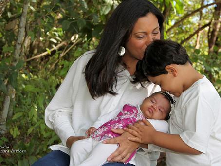 Em Foco: Dia das Mães - Adriana, Heitor e Heloísa