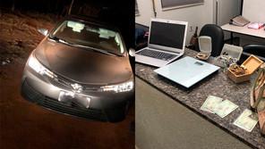 PM prende ladrão e recupera veículo e objetos roubados de residência em Jardinópolis