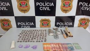 Polícia Civil de Jardinópolis apreende drogas durante mandados de busca e apreensão