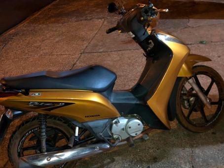 PM de Jardinópolis recupera motocicleta roubada em Ribeirão Preto