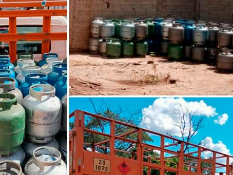 Polícia Civil de Jardinópolis recupera botijões de gás roubados