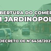 Fim do lockdown e reabertura do comércio em Jardinópolis