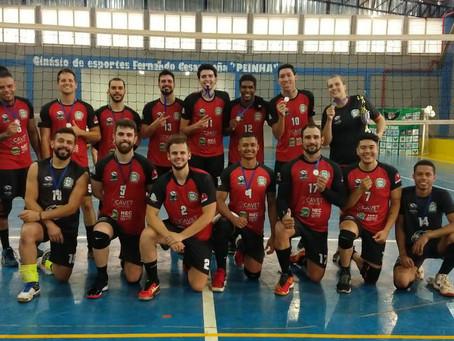 Falcões fica com o vice campeonato da Copa Palestra Itália de Vôlei