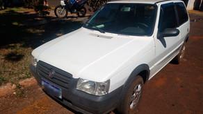 Veículo é roubado mas localizado no fim de semana em Jardinópolis