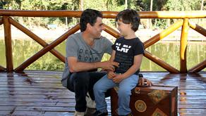Em Foco: Dia dos Pais - Joaquim e seu papai Valtemiro