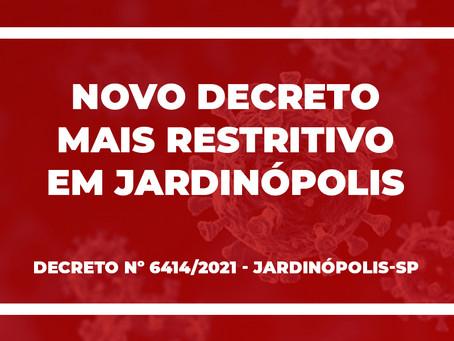 Jardinópolis fecha maioria dos comércios com novo Decreto
