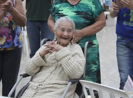 Faleceu aos 101 anos a moradora mais antiga da Vila Reis em Jardinópolis