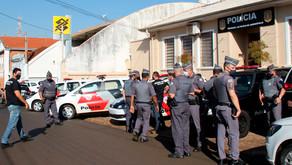 Mega operação policial captura 4 envolvidos em vários crimes em Jardinópolis