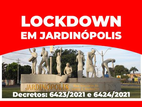 Jardinópolis terá 2 dias de reabertura e 10 dias de LOCKDOWN