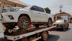 Veículos abandonados são localizados em Jurucê