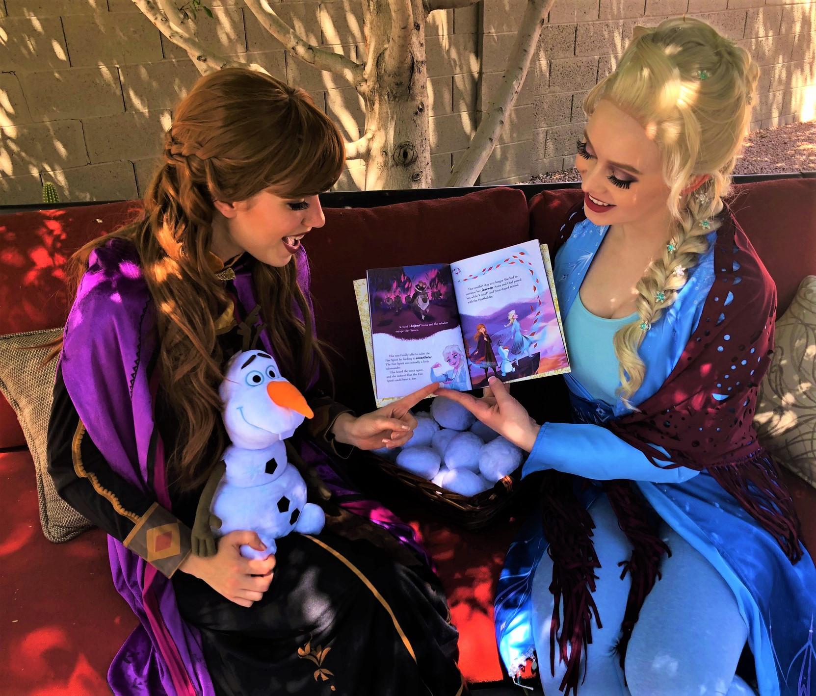 Snow Sisters Virtual Princess Package