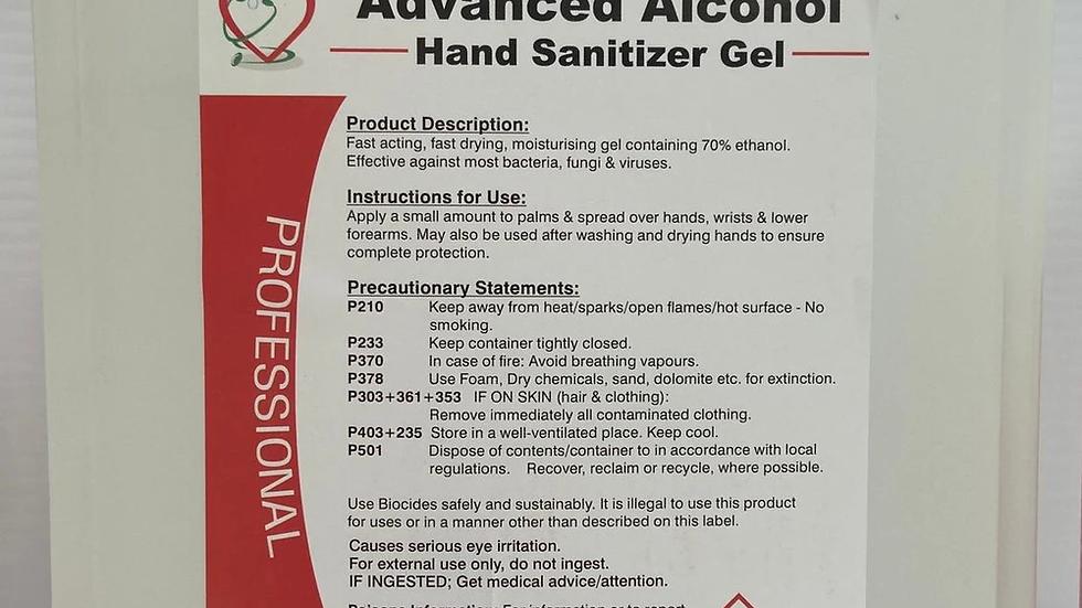 Hand Sanitizer Gel 5Ltr