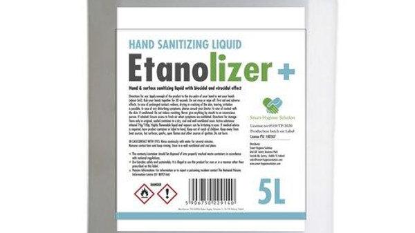 Hand Sanitizing Liquid