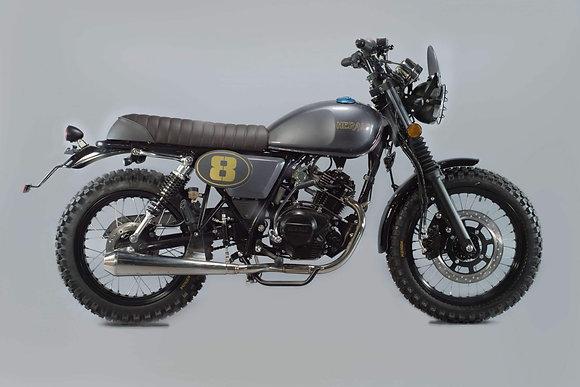 Herald Scrambler 125cc (New) Steel Grey