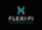 Flexi-Fi Logo Portrait - Black Backgroun
