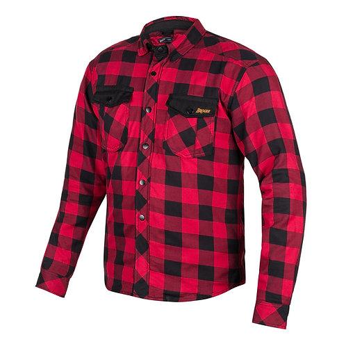 Alaska Red/Blk Protective Shirt