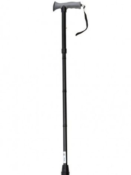 Folding Walking Stick With Gel Grip Handle