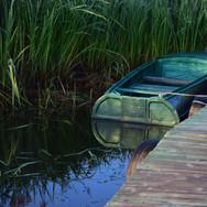 Старая лодка