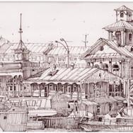 Речной вокзал. Вологда