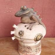 лягушонок (керамика)