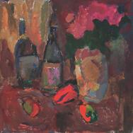 Цветы, перец и вино