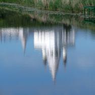 Отражение. Суздаль, 2015 г.