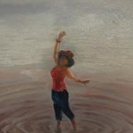 Алёна на Плещеевом озере