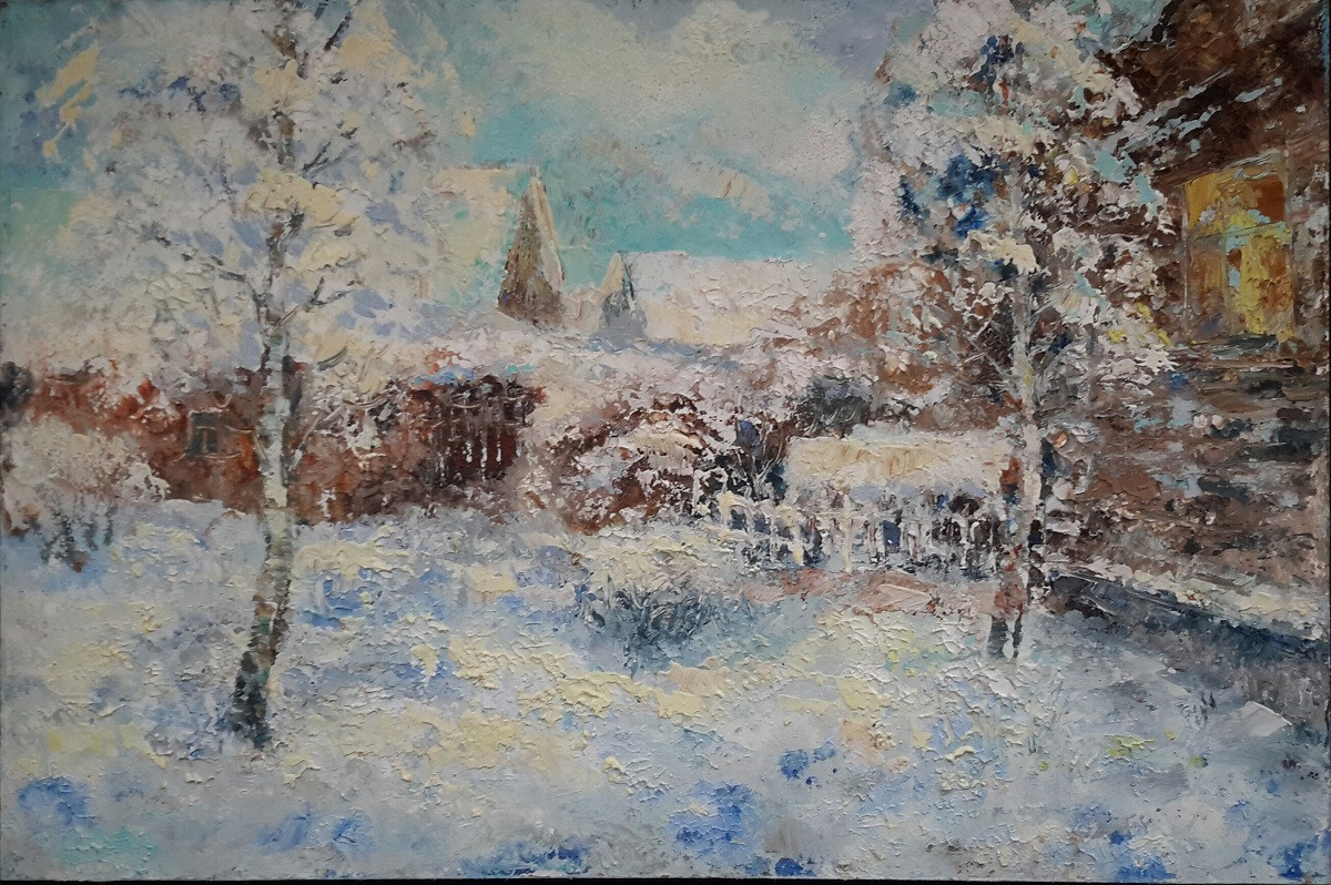 Григорий Плотников Зима