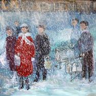 В Москве снег