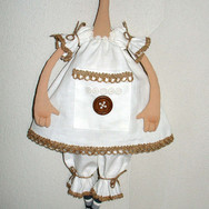 Кукла Нина. (текстиль, акрил)
