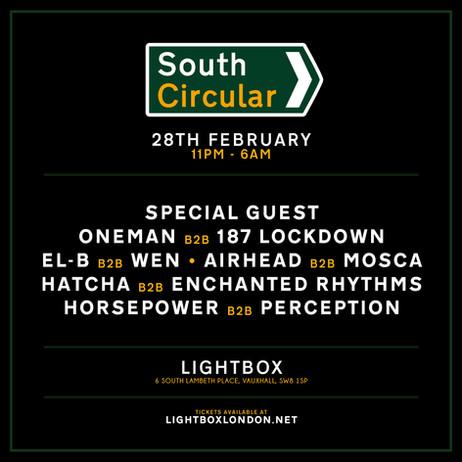 EVENTS | South Circular II @ Lightbox [28/02/20]