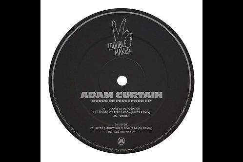 DOORS OF PERCEPTION EP - ADAM CURTAIN [TRBLMKR12009]